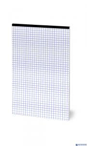 Blok notatnikowy OFFICE A4 50K 70G kratka zszywany bez okładki TOP2000