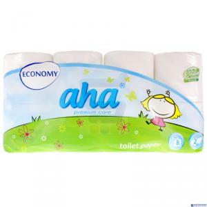 Papier toaletowy AHA SMART (8rolek)biały