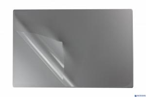 Podkład na biurko z folią 38x58 silver BIURFOL KPB-01-01