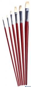 Pędzle płask.duże szczecina(6) 685A 170-1425 1-11