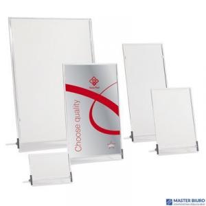 Tabliczka stojąca jednostronna 11x23cm 0403-0007-00 PANTA PLAST