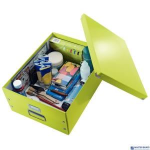 (WYCOFANE)Pudełko LEITZ Click & Store A3 zielone 60450064 (X)