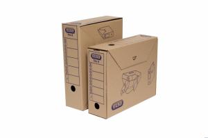 Karton archiwizacyjny TRIC 0 szerokość 9,5cm brązowy ELBA 100552623