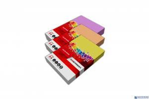 Papier ksero EMERSON A4 80g 100ark mix kolorów intensywnych czer, róż, słoneczny, mięta xem1001n