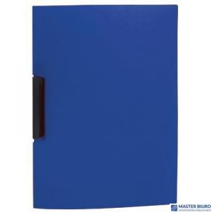 Skoroszyt Biurfol A4 z klipsem PP niebieski PK-01-03