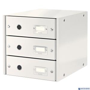 Pojemnik z 3 szufladami LEITZ C&S biały 60480001