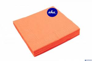 Serwetki AHA pomarańczowe 20sztuk