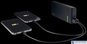 Przenośna ładowarka LEITZ Complete 10400 mAh 2 złącza USB 63130095