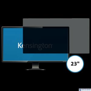 Kensington privacy filter 2 way removable 58.4cm 23 Wide 16:9 626485