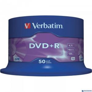 Płyta DVD+R VERBATIM CAKE(50) Matt Silver 4.7GB x16  43550