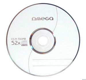 Płyta CD-R OMEGA 700MB cake (100) 52x
