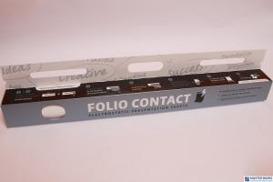 Folia FLIPCHART z dyspenserem 25 kart DATURA samoprzyczepna 20m