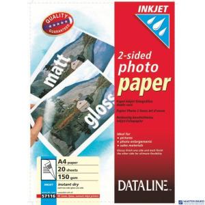 (WYCOFANE)Papier dwust.FOTO(20) 57116 DATA LINE (X)