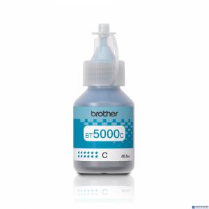 Tusz BROTHER (BT5000C) niebieski 5000str DCP-T300/T500/T700