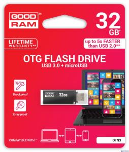 Pamięć USB GOODRAM 32GB OTN3 czarny USB 3.0 OTN3-0320K0R11