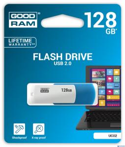 Pamięć USB GOODRAM 128GB UCO2 USB 2.0 miks kolorów UCO2-1280MXR11