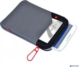 Etui na tablet EMTEC TRAVELER SLEEVE 7 cali G100 szary ECBAG7G100-DG
