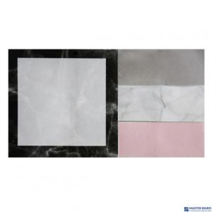 Zestaw kartek samoprzylepnych marmur 13x8cm INCOOD 0106-0003