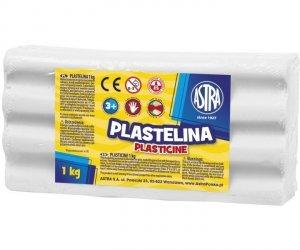 Plastelina LUZEM ASTRA 1kg biała 303111001