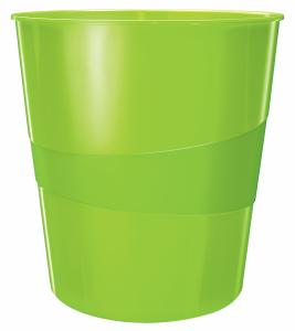 Kosz na śmieci 15L Leitz WOW, zielony 52781054