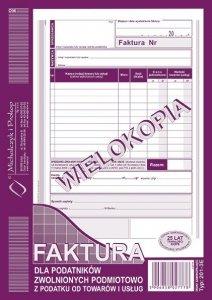 201-3E Fakt.dla zw.podm.z pod.A5(pion)w MICHALCZYK I PROKOP