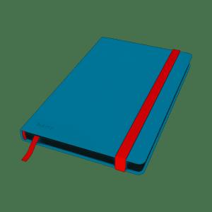 Notatnik Leitz Cosy, A5, kratka, niebieski 44540061