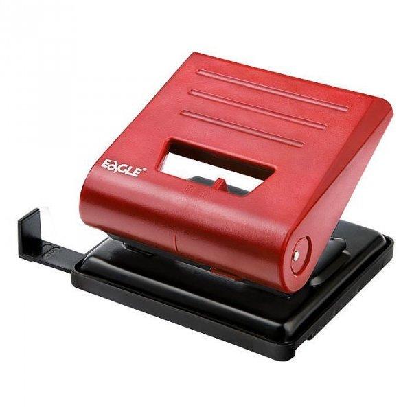 Dziurkacz EAGLE 837L do 25 kartek czerwony 110-1039