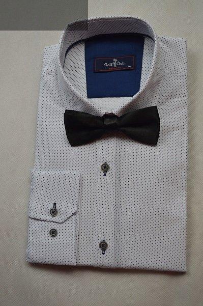 Idealnie pasuje do białej koszuli w drobny wzorek