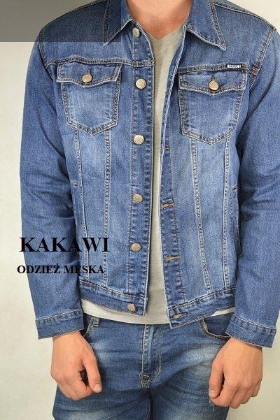 Kurtka -bluza jeansowa męska