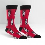 Skarpety męskie Sock It To Me Boston Terrier MEF0135