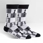 Skarpety męskie Sock It To Me Checkmate MEF0169