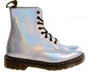 Buty Dr. Martens PASCAL IM Silver Lazer Reflective Metallic Leather 23551073