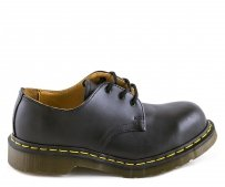 Półbuty Dr. Martens 1925 Black Fine Haircell