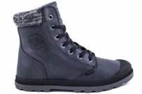 Trapery Palladium PAMPA HI KNIT LP Black Forged Iron 95172036