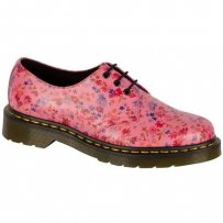 Półbuty Dr. Martens 1461 Acid Pink Little Flowers