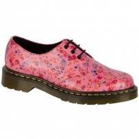 Półbuty Dr. Martens 1461 Acid Pink Little Flowers