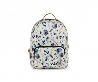 Plecak The Pack Society CLASSIC BACKPACK OFF WHITE BLUE FLOWER 181CPR702.72