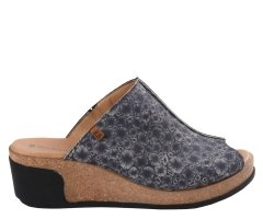 Klapki El Naturalista LEAVES N5005 Black Coral Fantasy Leather