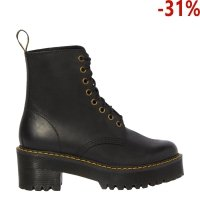 Botki Dr. Martens SHRIVER HI Black Burnished Wyoming 23921001