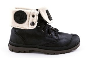 Buty Palladium BAGGY LEATHER Black Pilot OCIEPLANE 92610072
