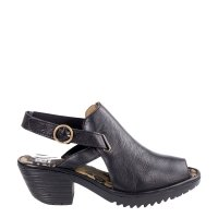 Sandały Fly London WENA 137 Black Mousse P501137000