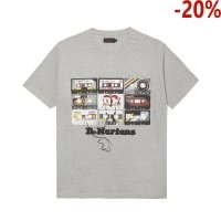 T-Shirt Dr. Martens TAPE T-SHIRT Grey AC833020