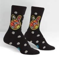 Skarpety damskie SOCK IT TO ME 90's Peace sign W0202