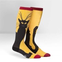 Podkolanówki SOCK IT TO ME Stretch-It: Chat Noir S0024