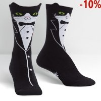 Skarpety damskie SOCK IT TO ME Tuxedo Cat W0190