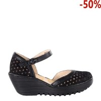 Sandały Fly London YVEN 029 Black Cupido Mousse P501029000