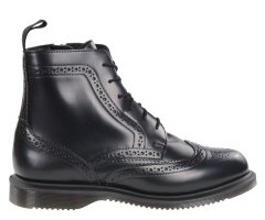 Botki Dr. Martens DELPHINE Black Polished Smooth 22650001