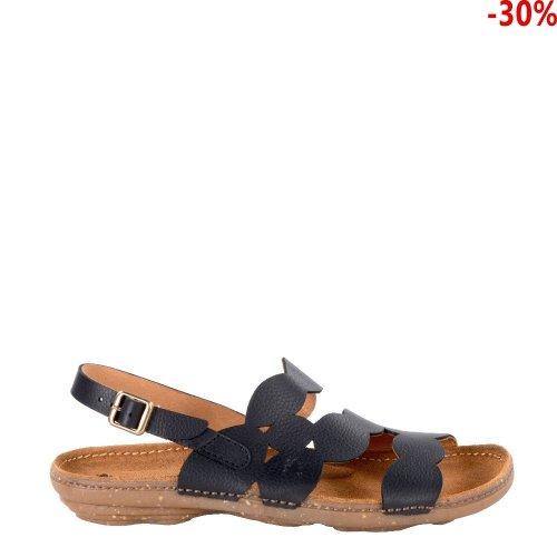 Sandały El Naturalista N5223 Black Torcal Soft Grain 2503190002