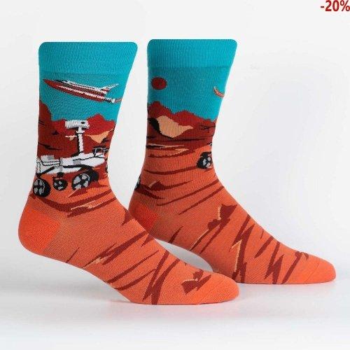 Skarpety męskie Sock It To Me Mars Rover MEF0434