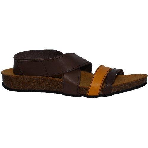 Sandały Dr. Brinkmann 710689 Braun Mais Leder